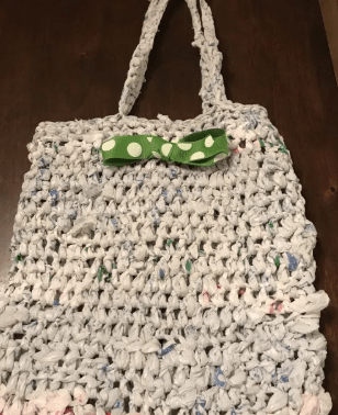 Plarn from Grocery Bags