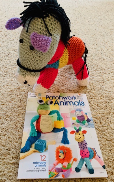 "My Review of ""Patchwork Animals"" Crochet Pattern Book From Annie's Catalog"
