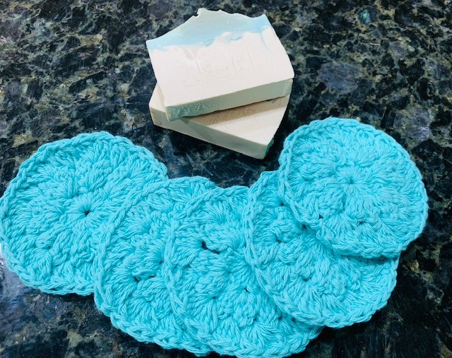 Crochet Reusable Wash Cloths