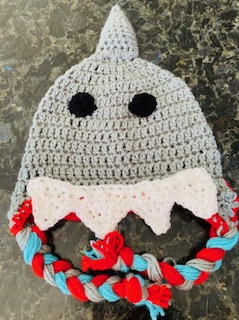 Shark Hat!! Free Crochet Pattern