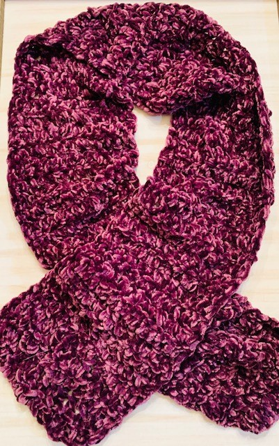 Super Easy, Super Soft, Velvet Scarf