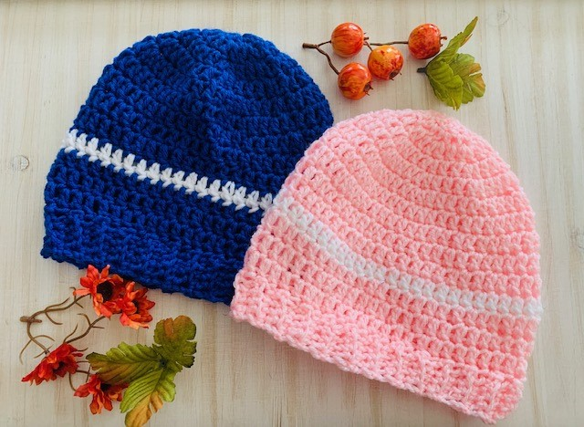 How To Crochet a Basic Beanie Hat for Adults (Super Easy!) (With Video Tutorial)