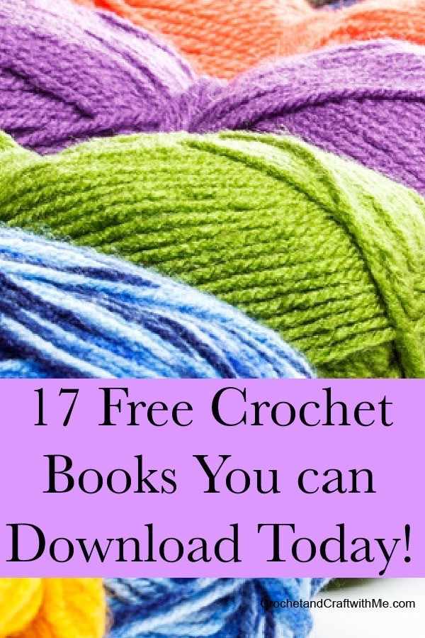 17 Free Kindle Crochet Books You Can Download Right Now!